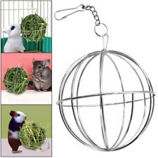 Rabbit Guinea Pig Hamster Chinchilla Pet Food Ball Plating Grass Hay Rack Ball