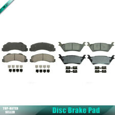Set of 8 Front+Rear Ceramic Wagner Disc Brake Pad For FORD F-150 2012 2013 2014
