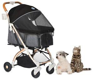 HPZ PET ROVER LITE Premium Light Travel Stroller for Small/Medium Dogs & Cats