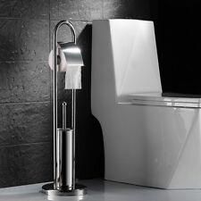 Klopapier Rollen Ständer Bürstengarnitur Klobürste WC-Papierhalter Bürste Halter