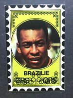 *RARE* VANDERHOUT 1972 PELE BRAZIL CARD