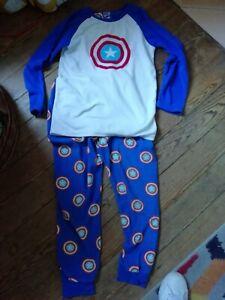 Kids Marvel Fleece Pyjamas Age 11-12