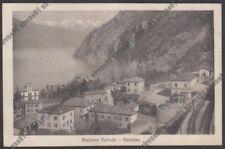 LECCO PERLEDO 15 STAZIONE PERLEDO VARENNA - LAGO DI COMO Cartolina viagg. 1922