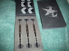 Silver Star fancy metal tip darts, new set of 3, No Reserve, Nice.