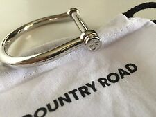 [CR LOVE] NEW! [COUNTRY ROAD] BRIDAL BRACELET CUFF SILVER - BRIDLE