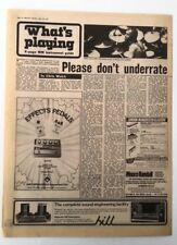 PHIL COLLINS (GENESIS) 'please don't underrate' 1977 UK ARTICLE / clipping