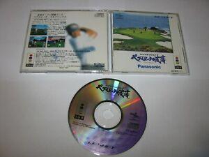 T&E VR Golf Pebble Beach no Hatou 3DO Japan import US Seller