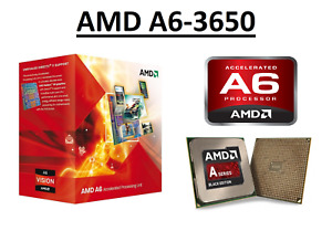 AMD A6-3650 Quad Core Processor 2.6 GHz, Socket FM1, 100W CPU