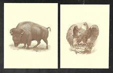 Engravings - Set of Four (4) Intaglio prints/vignettes - Mint condition