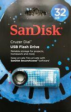 Sandisk Cruzer Dial 16GB 32GB 64GB usb 2.0 memory stick flash pen thumb drive