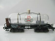 "Marklin H0 44534 ""25 Years Insider"" Exclusive Glass Tank Car - NIB"