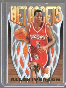 1996/97 Skybox Ex2000 Net Assets Allen Iverson Rc #7