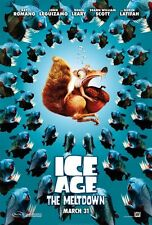 POSTER L'ERA GLACIALE THE ICE AGE 2 3 MANNY SID DIEGO 1