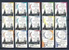 Nederland D44-D58 Cour de justice 1989-1994 postfris