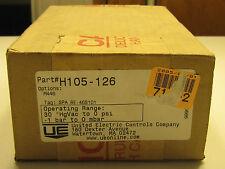 """Ue United Electric H105-126H105126 0-30""""Hg Vacuum Pressure Switch New"""