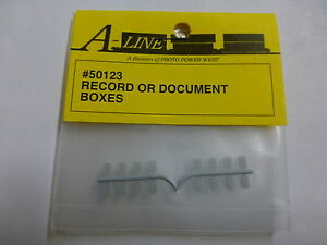 A-Line HO #50123 Record or Document Box (16)