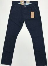 WRANGLER LARSTON SLIM TAPERED SOFT LUX DARK FLAX DENIM RRP £74.99 FREE POSTAGE