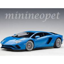 AUTOart 79134 LAMBORGHINI AVENTADOR S 1/18 MODEL CAR BLU NILA / PEARL BLUE
