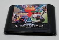 SEGA Mega Drive Spiel Modul - Mega Games I - Super Hang-On + World Cup Italia 90