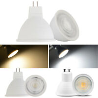 COB LED Spotlight Dimmable 7W GU10 MR16 GU5.3 Bulbs AC 110V 220V Light Lamp