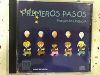 PRIMEROS PASOS CD PROYECTO LINGUA A XUNTA DE GALICIA