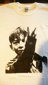 KES T-Shirt. White,Size Large,& other sizes.Barry Hines,Punk,Anarchy