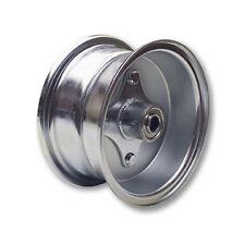 "Mini Bike GO KART Plated 6"" Split Rim Steel Wheel BEARINGS   Hub Hardware"