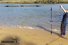 "Nylon Fishing Net / Gill Net - 23m x 2.5m - Ready to Fish 3"" x 3""  Floats & Lead"