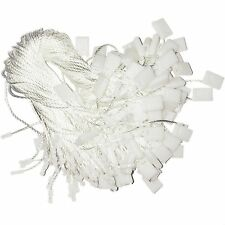 "Hang Tag Fasteners White Nylon Strings 7"" long - 1000 pieces"