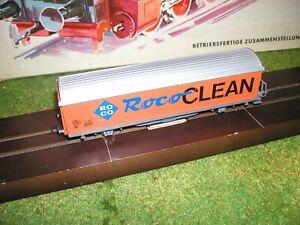"""Roco -  1 Güterwaggon """"RocoCLEAN"""" (Schienenreinigung) 44340A"""