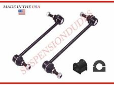 4PC Toyota Sienna 2004-2010 Front Sway Bar Link + Sway Bar Bushings