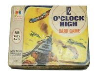 Vintage 12 O'Clock High Card Game 1965 Milton Bradley WWII Airplanes Complete