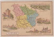 CHROMO PUBLICITAIRE CHOCOLAT DELESPAUL-HAVEZ/DEPARTEMENT NIEVRE/NEVERS/CLAMECY