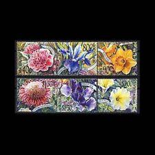 New Zealand, Sc #1702-07, MNH, 2001, Flowers, Flora,  TRD-A