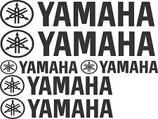 Yamaha Stickers 2 x 550 x 100  2 x 400 x 75  2 x 275 x 50  Marine Grade Material