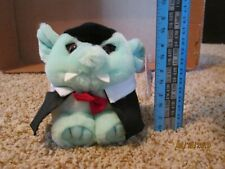 "Puffkins Halloween Count Dracula Vampire 4.5"" Bean Bag Plush Stuffed Toy"
