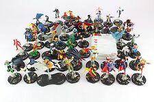 La Liga de la justicia 58 Figuras Heroclix Superman Mujer Maravilla Flash Casi Completo