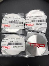 "Set Of 4 New OEM TRD Embossed Center Cap 4Runner Tundra 17"" Off Road Wheel"