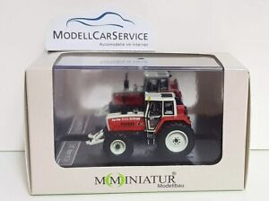 Mo-Miniatur 1/87: 20845 Tractor Steyr 8130 Turbo, With Front Hydraulic