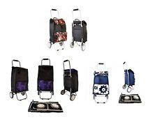 Carrito de la compra carro de equipaje con ruedas Festival de Peso Ligero Bolsa de mercado & Wheels