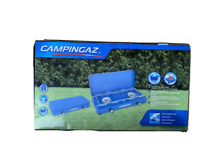 Campingaz Base Camp Lid Campingkocher 2 flammig Camping mit Schlauch Gaskocher