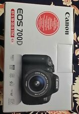 Canon EOS 700D 18MP DSLR Camera WITH 18-55mm Lens