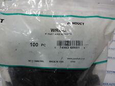 "PANDUIT,WR4-C,4 "" DUCT WIRE RETAINER, 1 BAG OF 100PCS"