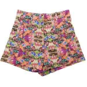 Victoria's Secret Multicolor Tropical Design Shorts Women's Size 2