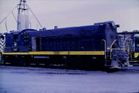 Original Slide Central Railroad of New Jersey 1207 Baldwin RS12 1969