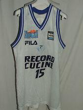 Shirt Maillot Tank Top Basketball Record Kitchen Napoli n ° 15