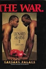 Sugar Ray Leonard Thomas Hearns Boxing Press Kit June 12 1989