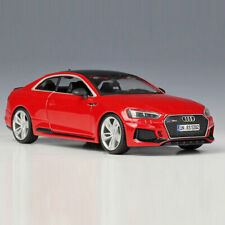 Audi RS 5 Coupe 2018 1:24 Scale Model Car Diecast Vehicle Collection Gift Red