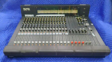 PANASONIC RAMSA WR-8716 AUDIO MIXER 16 INPUTS 4 GROUP MODULES 2 MASTERS 6 METERS