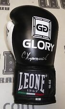 Sergei Kharitonov Signed Official Glory Kickboxing Fight Glove PSA/DNA Autograph